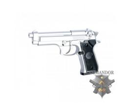 Страйкбольный пистолет M92F silver  nbb