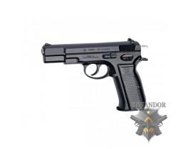 Страйкбольный пистолет CZ 75 RSS при стрельбе вылетают гильзы
