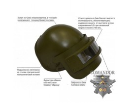 Реплика штурмового шлема К6-3