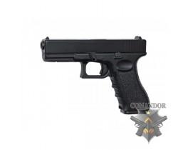 Страйкбольный пистолет Glock 17 (Markings, Metal version)