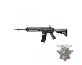 Автомат G&G HK416 Long Black T4-18  (120-130m/s)