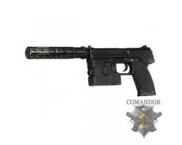 Страйкбольный пистолет MK23 (LAM + глушитель)
