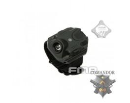Тактический браслет-фонарь черный