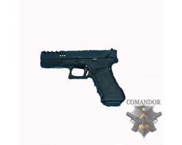 Страйкбольный пистолет G18 ZEV Black Custom