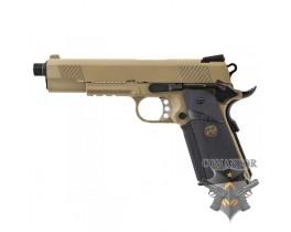 Страйкбольный пистолет   MEU 1911 Лимитированное издание песочный