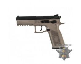 Пистолет Чешска Збровка 09 модели в песке