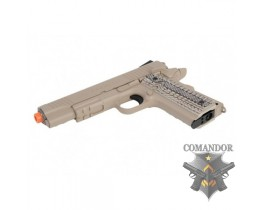 Пистолет Colt M45A1 Rail CO2 GBB
