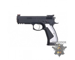 ПИСТОЛЕТ CZ-75 SP-01 SHADOW ACCU GREEN GAS