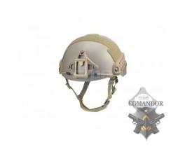 Шлем FMA баллистический High Cut XP DE (L/XL)
