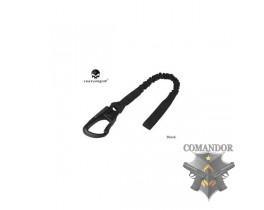 Трос Emerson страховочный LANYARD Navy SEAL Save Sling (черный)