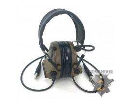 Наушники SkyTac активные Comtac III Dualcomm Headset CB