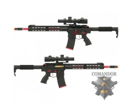 "Страйкбольный автомат APS Phantom Extremis Mark III M4 AEG with 15"" MLOK Handguard"
