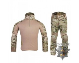 Комплект Emerson Combat Shirt + тактические брюки Gen.2 размер S (мультикам)
