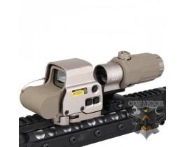 Прицел Emerson EXPS3-0 + магнифер G33 (песочный)