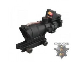 Прицел Emerson оптический Acog 4x32 с Docter RMR (BK)