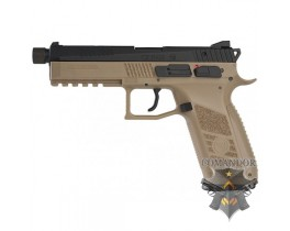 Пистолет KJWorks CZ P-09 Duty Tan - Gas Version