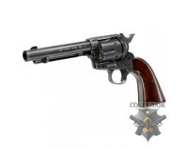 Револьвер Umarex SAA .45 Co2 Custom Antique Black - Cowboy Police Version