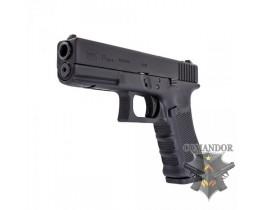 Пистолет WE Glock 17 Gen.4 (черный)