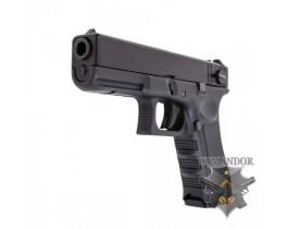Пистолет WE Glock 18 Gen.4 (черный)