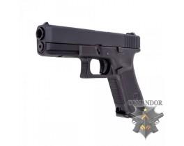 Пистолет WE Glock 17 Gen.5 (черный)