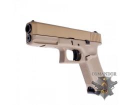 Пистолет WE Glock 17 Gen.5 (песочный)
