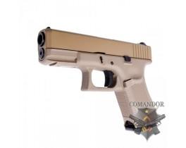 Пистолет WE Glock 19 Gen.5 (песочный)