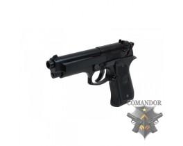 Пистолет WE Beretta M92 standard (черный)