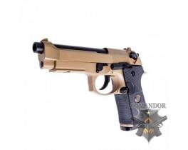 Пистолет WE Beretta M9A1 Navy version (песочный)