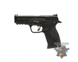 Пистолет WE S&W M&P T1 (gold barrel/black frame)