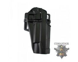 Кобура FMA CQC пластиковая для Colt 1911 (черная)