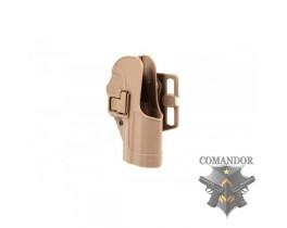 Кобура FMA CQC пластиковая для Colt 1911 (песочная)