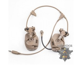 Наушники FMA активные RAC Tactical Headphones DE