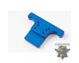 Крепление KJWorks для прицела Rear Sight Plate for CZ SP-01 Shadow (blue)