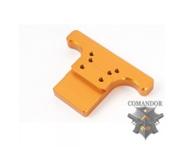 Крепление KJWorks для прицела Rear Sight Plate for CZ SP-01 Shadow (orange)