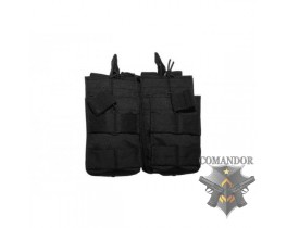 Подсумок TMC Open Top Magazine Pouch Double (BK)
