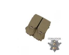 Подсумок TMC QUOP Double M4 Mag Pouch (Matte CB)