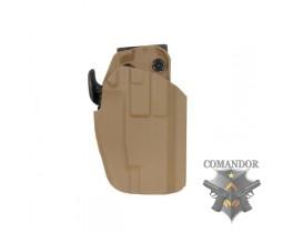 Кобура TMC для Glock 17/22/37/HK45 Standard Holster (CB)