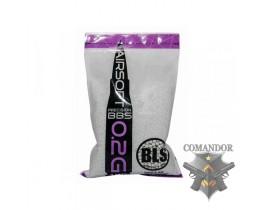 Шары BLS Белые 0.20g (1кг)