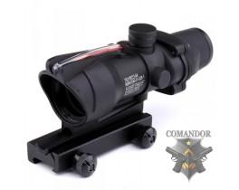 Прицел Vector Optics оптический Acog 4х32 red fiber