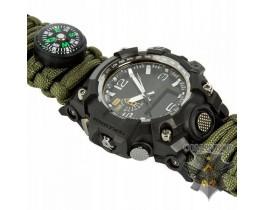 Часы Exponi тактические ремешок (olive drab)