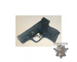 Пистолет WE S&W M&P Little Bird T1 A (gold barrel/black frame)