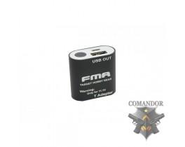 Зарядное устройство FMA для мобильных телефонов от аккумулятора 7.4V (черный)