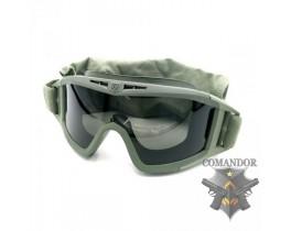 Очки Revision Desert Locust Military Goggle System 2 lens (folliage green)