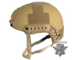 Шлем FMA баллистический OPS Core Aramid DE толстостенный (M/L)