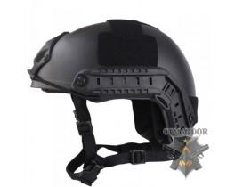 Шлем FMA баллистический OPS Core Aramid BK толстостенный (L/XL)