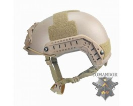 Шлем FMA баллистический OPS Core Aramid DE толстостенный (L/XL
