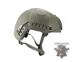 Шлем FMA баллистический OPS Core Aramid FG толстостенный (L/XL)