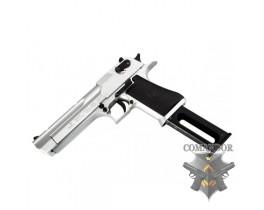 Пистолет KWC .50 Desert Eagle Style Version Metal Slide - Silver
