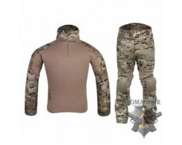 Комплект Emerson Combat Shirt + тактические брюки Gen.2 размер L (multicam)