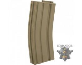 Магазин King Arms механический песочный пластиковый для M4/M16 (120 шаров)